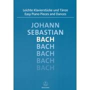 Bärenreiter Bach Easy Piano Pieces