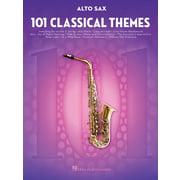 Hal Leonard 101 Classical Themes Alto Sax.