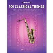 Hal Leonard 101 Classical Themes Tenorsax.