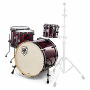 SJC Drums Custom 4-piece Red Barbershop