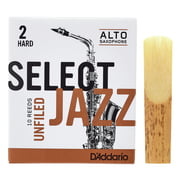 DAddario Woodwinds Select Jazz Unfiled Alto 2H
