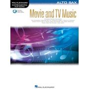 Hal Leonard Movie and TV Music: Alto Sax.