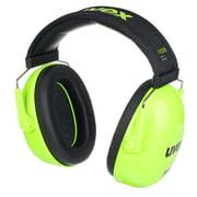 UVEX K Junior Ear Protector lime