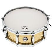 """Gretsch Drums 14""""x5"""" Hammered Brass Snare"""