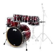 DW PDP CM7 Rock Red to Bl B-Stock