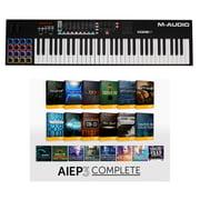 M-Audio Code 61 Black - AIEP3 Bundle
