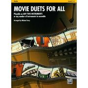 Alfred Music Publishing Movie Duets For All Violin