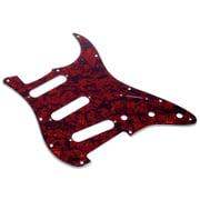 dAndrea ST-Pickguard SSS Red Pearl