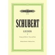 Edition Peters Schubert Lieder 1 Mittel