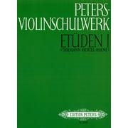 Edition Peters Violinschulwerk Etüden 1