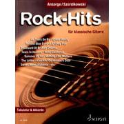 Schott Rock-Hits klassische Gitarre