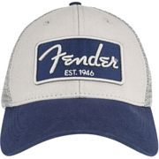 Fender Baseball Cap 3D Chrome