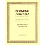 Edition Hug Vivaldi Concert G-Dur Violin