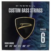Dingwall 6-Str. Bass 030-127 Set RW SS