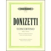 Edition Peters Donizetti Concertino B-Dur
