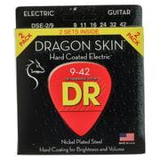 DR Strings Dragon Skin DSE-9-42 2-Pack