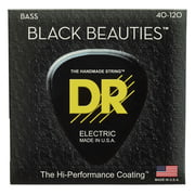 DR Strings Black Beauties BKB5-40-120