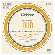 Daddario EJ95A Oud Silver Plated Copper