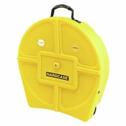 "Hardcase 22"" Cymbal Case Yellow"