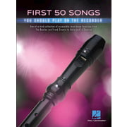 Hal Leonard First 50 Songs Recorder