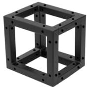 Decotruss Quad Corner Block BK
