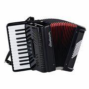 Startone Piano Accordion 48 Black MKII