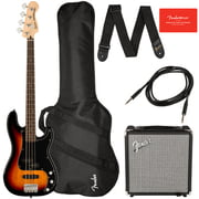 Fender SQ Aff. P Bass PJ PACK 3-SB