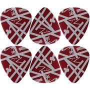 Dunlop EVH Shark Max Grip Pick Set 6