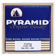 Pyramid Pure Nickel 12 String Set Med