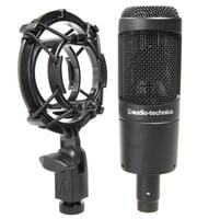 Microfones de membrana grande