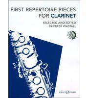 Klassische Noten für Klarinetten