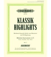 Klassische Noten für Blockflöten