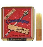 Palhetas para clarinete baixo (francês)
