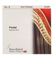 Strings for pedal harp