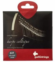 Strings for lever harps