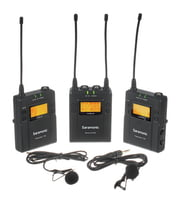Wireless Microphones with Lapell Microphones