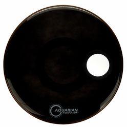 """Aquarian 20"""" Regulator Black Bass Drum"""