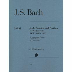 Henle Verlag Bach Sonaten und Partiten VL