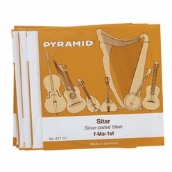 Pyramid Sitar Strings 677/7