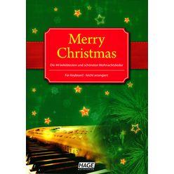 Hage Musikverlag Merry Christmas Keyboard