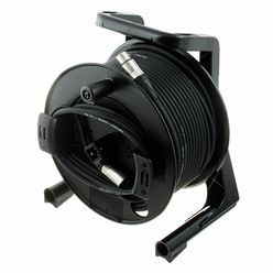 pro snake DMX Cable Drum 50m 3 Pin