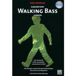 Alfred Music Publishing Garantiert Walking Bass Lernen
