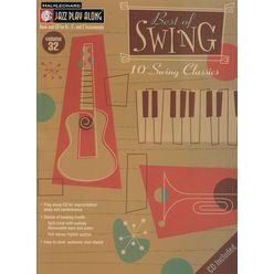 Hal Leonard Jazz Play-Along Best Of Swing