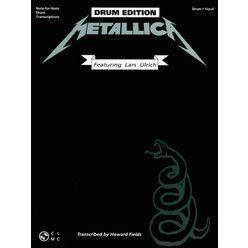 Cherry Lane Music Company Metallica Black Album Drums