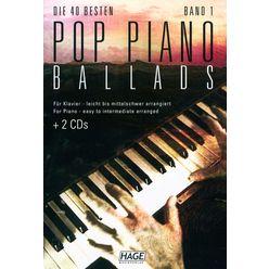 Hage Musikverlag Pop Piano Ballads 1