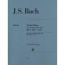 Henle Verlag Bach Sechs Suiten BWV1007-1012