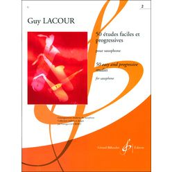 Editions Billaudot 50 Etudes Faciles 2 Saxophon