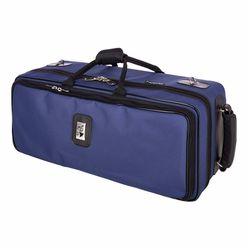 Marcus Bonna MB-02N Case 2 Trumpets Blue P