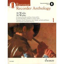 Schott Baroque Recorder Anthology 1