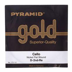 Pyramid Gold Cello String D